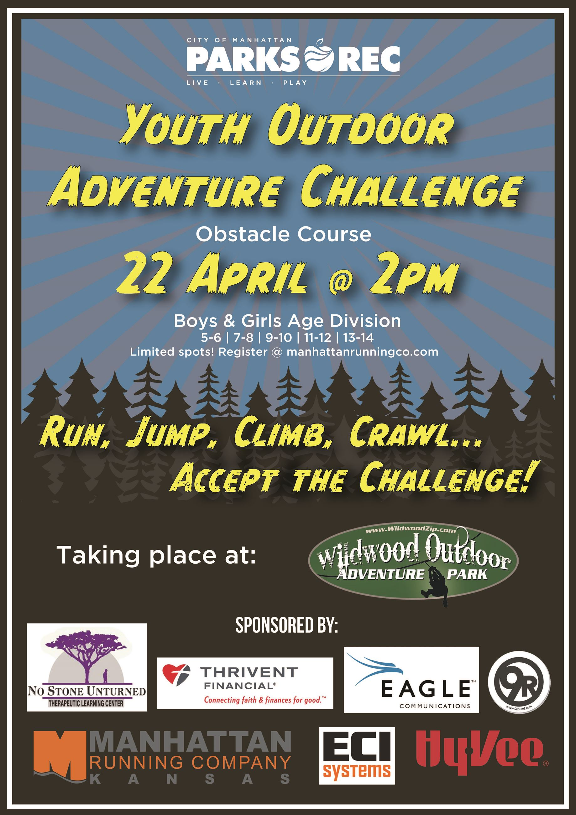 2018 Youth Outdoor Adventure Flyer updated