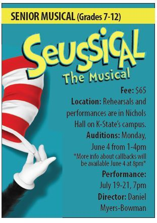 Seussical info summer