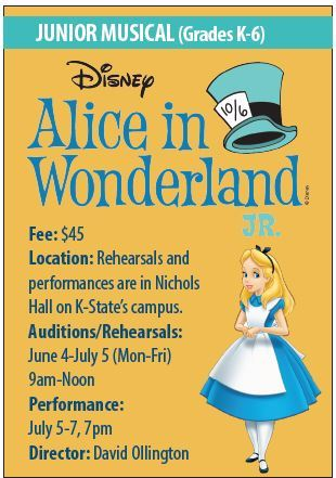 Alice in Wonderland info summer