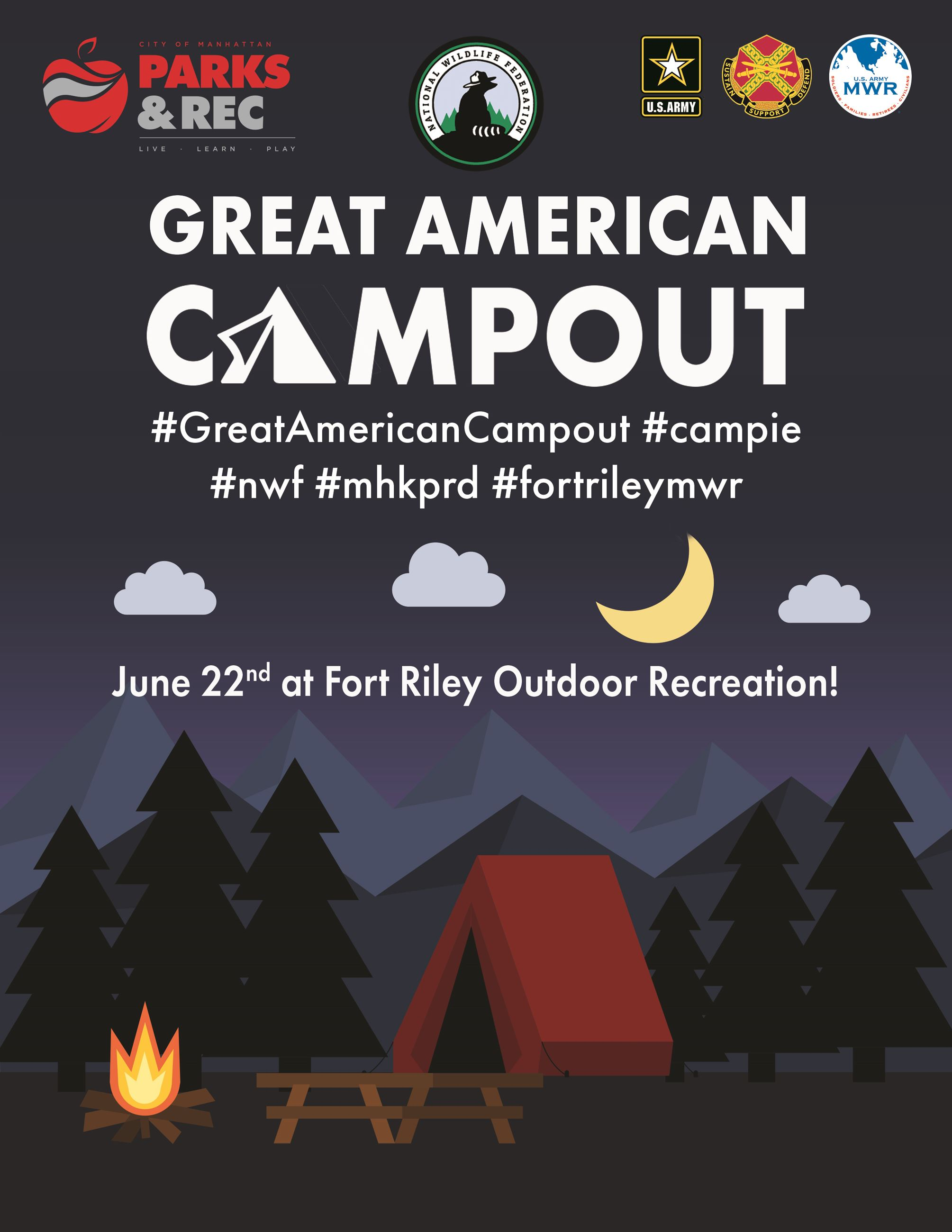 Camping Poster II