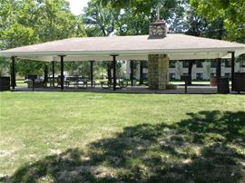 Shelter at Long's Park