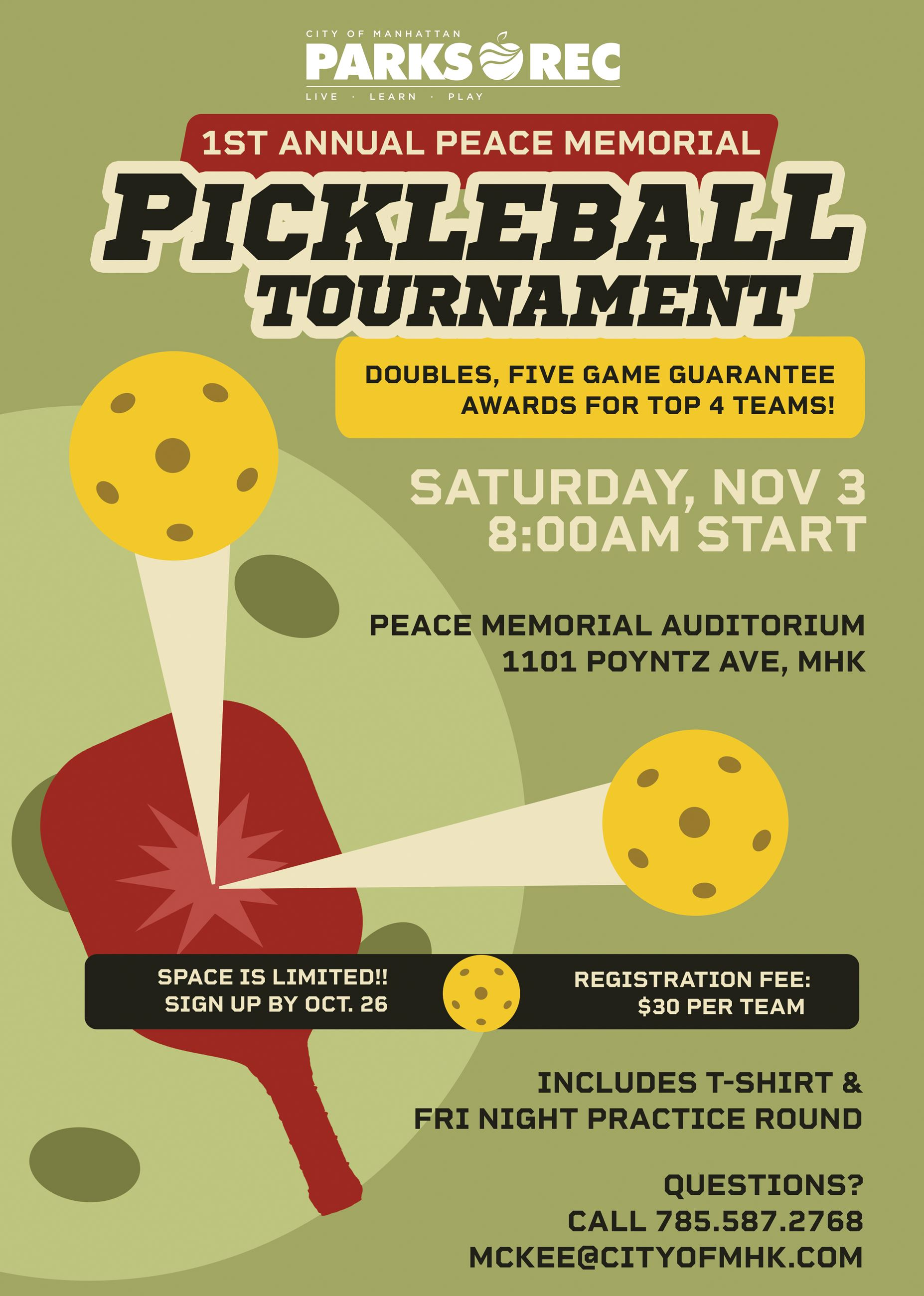Flyer Pickleball Tournament