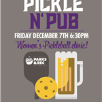 Pickle n' Pub Flyer