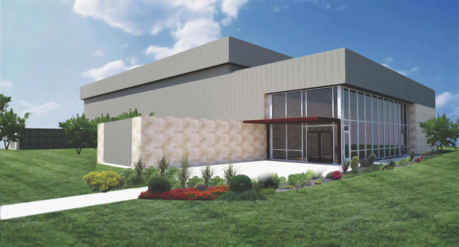 Exterior Rendering Douglass Recreation Center Concept