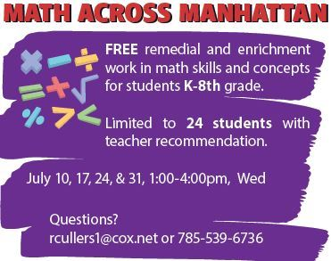 Math Across Kansas Flyer
