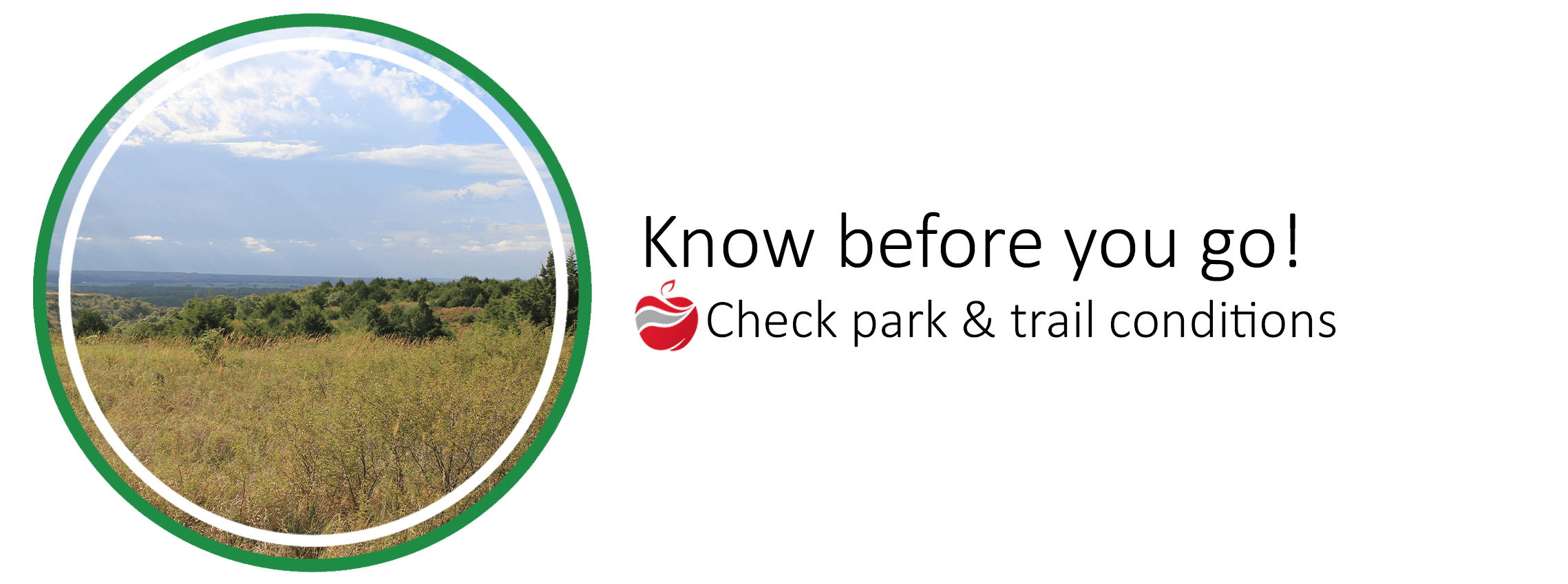 Check park & trail conditions
