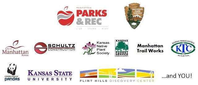 Picture collage displaying logos of various sponsoring businesses