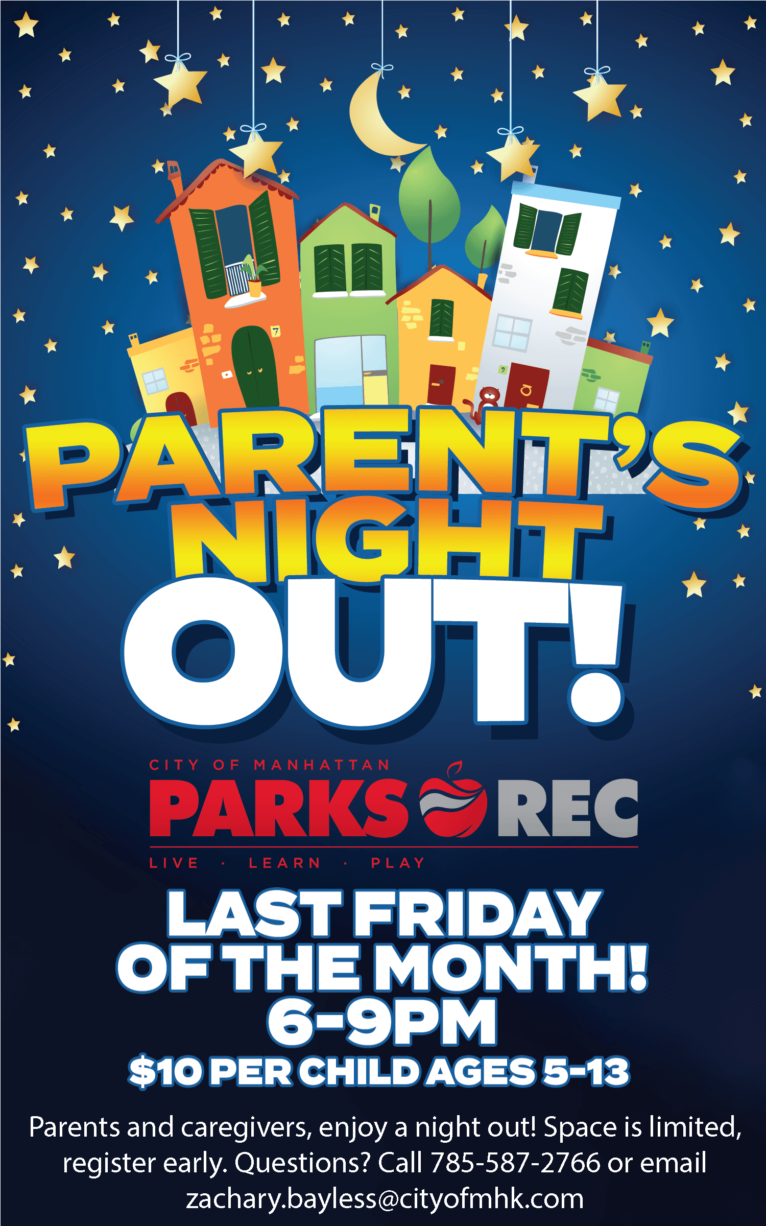 Parents Night Out Ad 2019